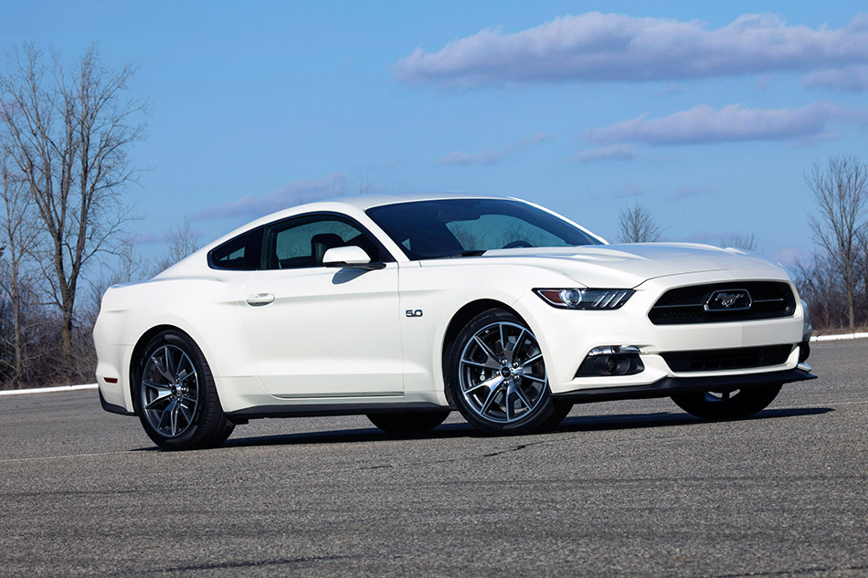 2015 Ford Mustang 50 Year Limited Edition Front Angle