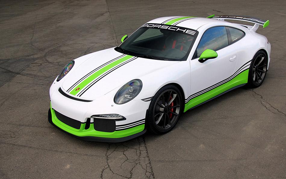 2014 Fostla Porsche 991 GT3 Front Angle