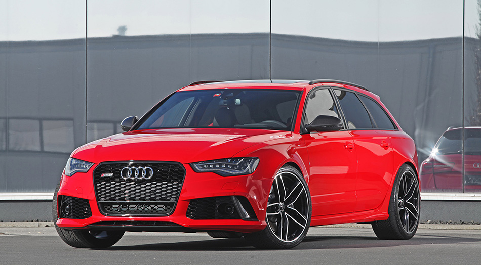 2014 HPerformance Audi RS6 Front Angle