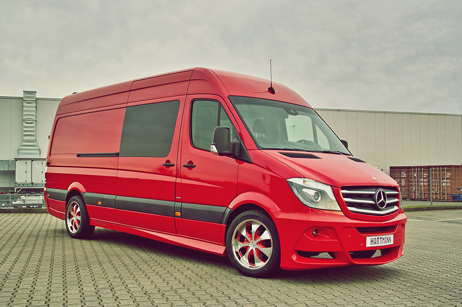 2014 Hartmann Mercedes -Benz Sprinter Sporty LWB Front Angle