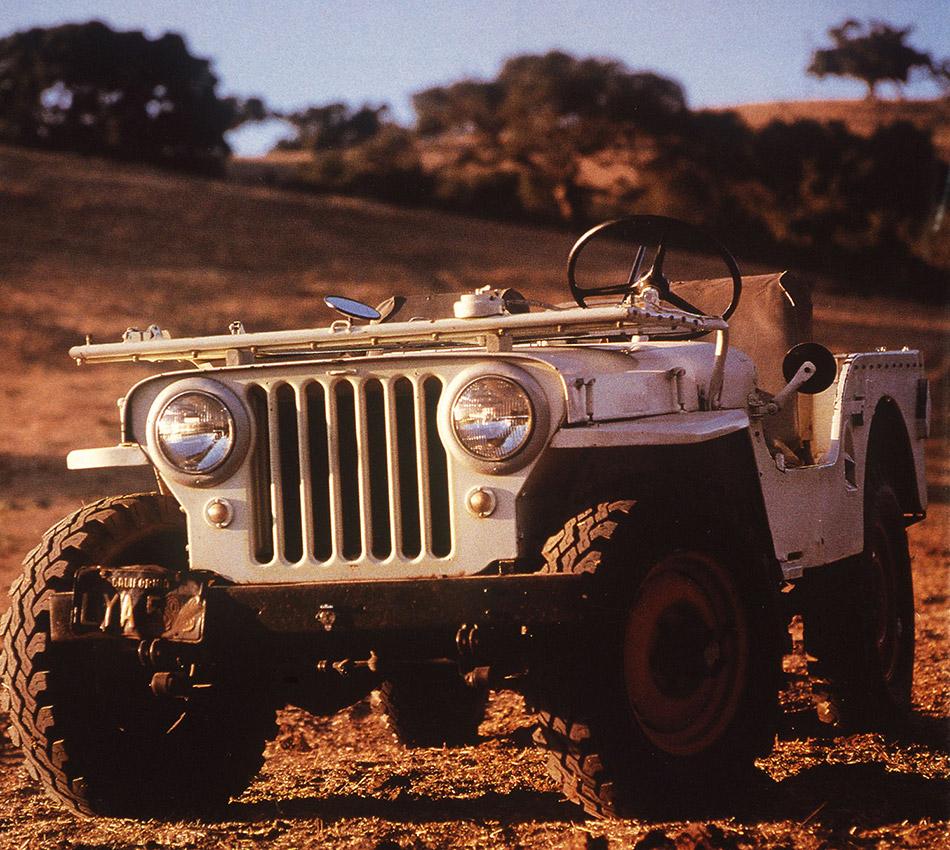 1945 Jeep CJ-2A Front Angle