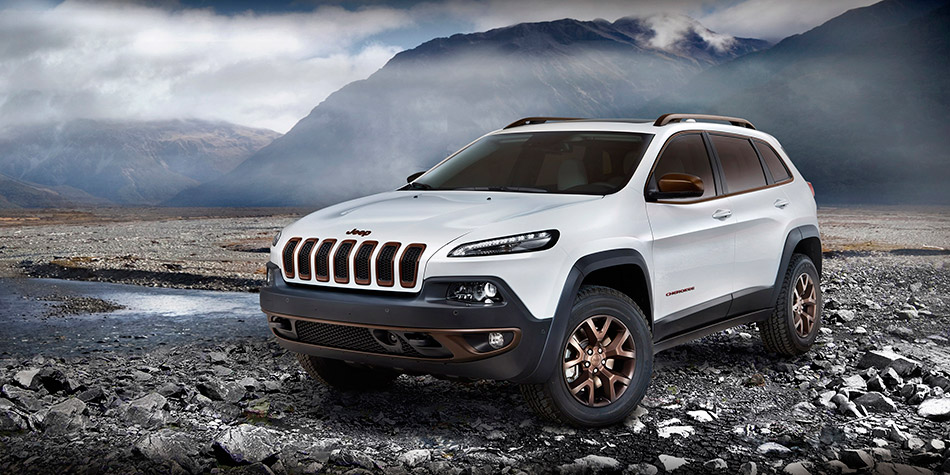 2014 Jeep Cherokee Sageland Concept Front Angle