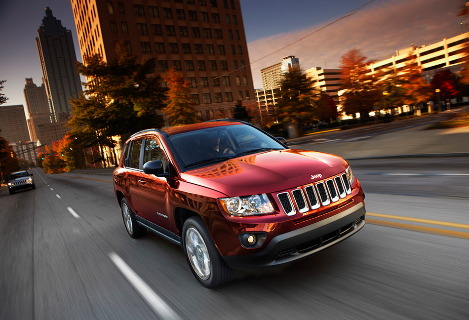 2011 Jeep Compass Front Angle