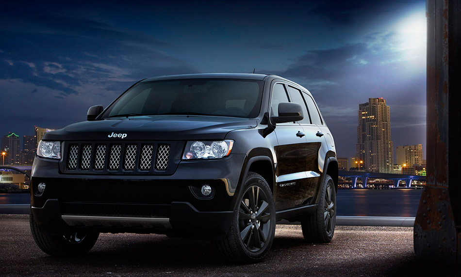 2012 Jeep Grand Cherokee Concept Front Angle