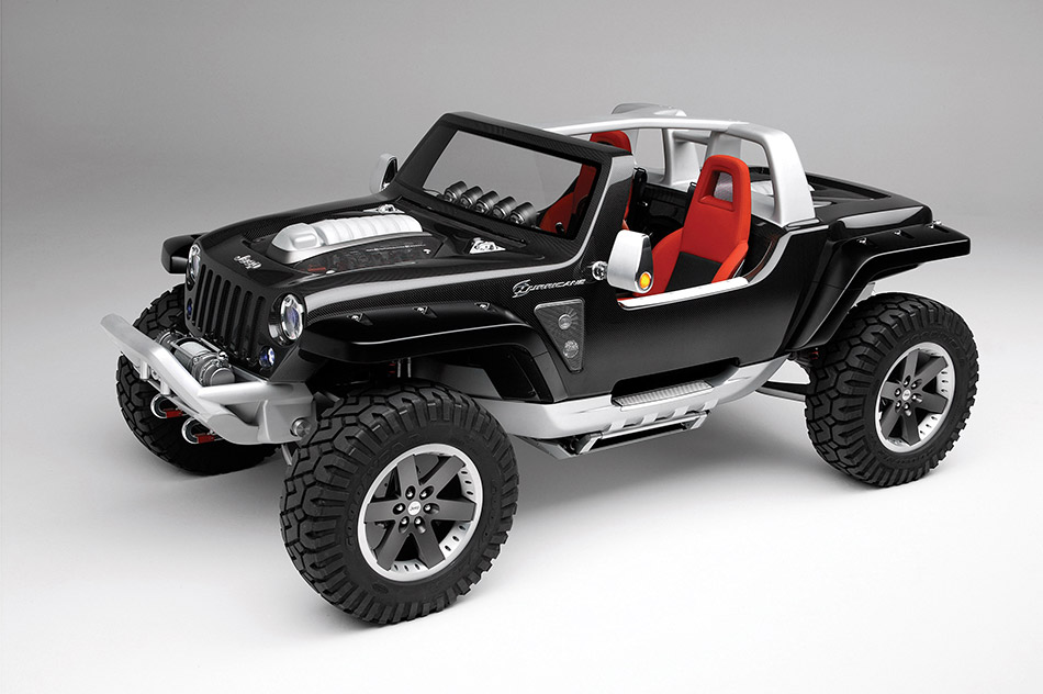 2005 Jeep Hurricane Concept Front Angle