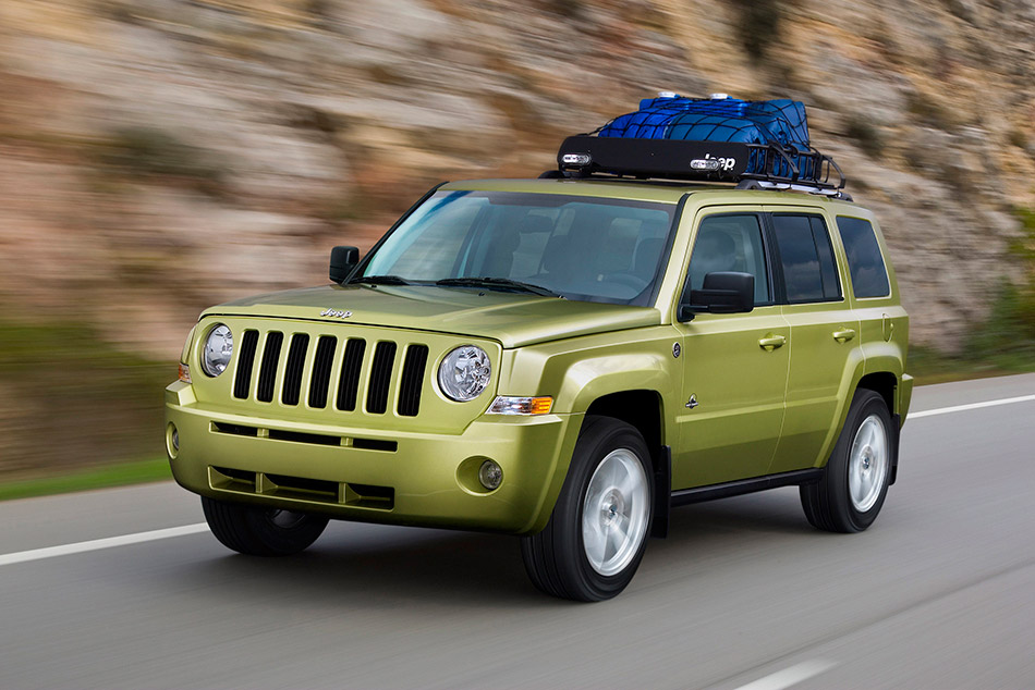 2008 Jeep Patriot Back Country Concept Front Angle
