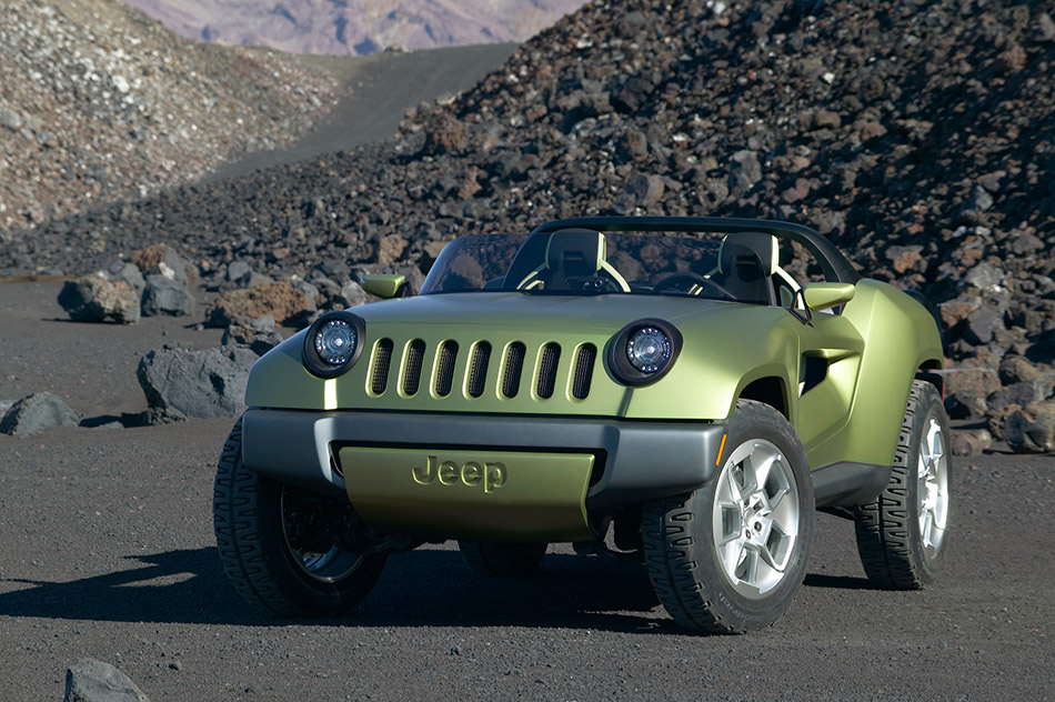 2008 Jeep Renegade Concept Front Angle