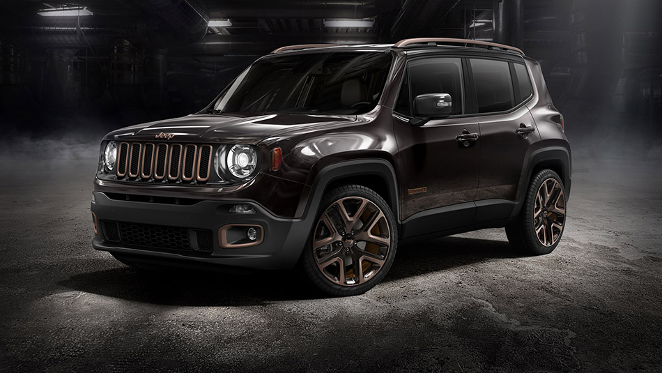 2014 Jeep Renegade Zi You Xia Concept Front Angle