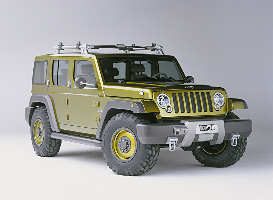 2004 Jeep Rescue Concept Front Angle
