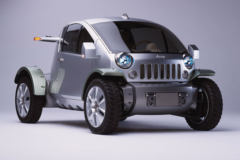 2003 Jeep Treo Concept Front Angle