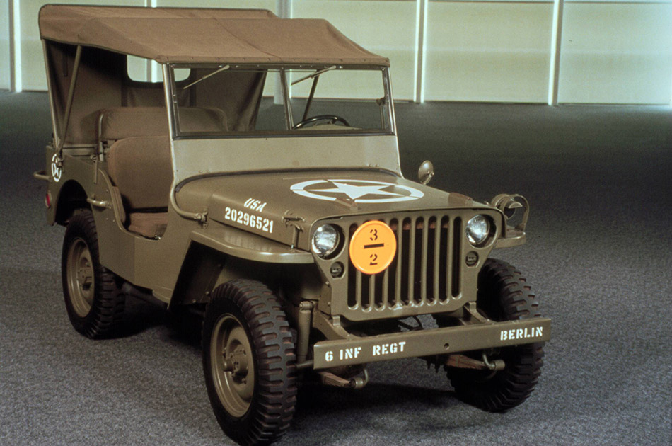 1943 Jeep Willys MB Front Angle