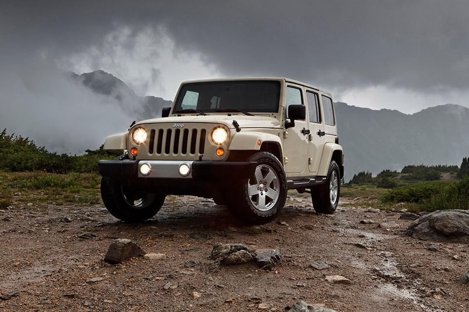 2011 Jeep Wrangler Front Angle