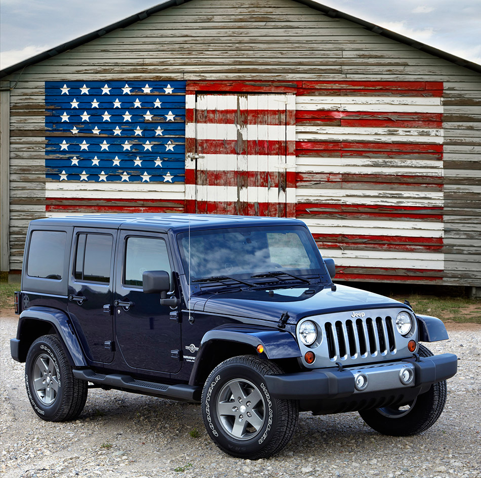 2012 Jeep Wrangler Freedom Edition Front Angle