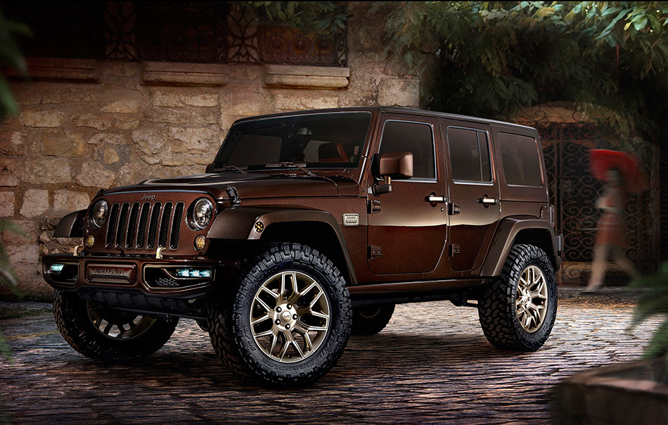 2014 Jeep Wrangler Sundancer Concept Front Angle