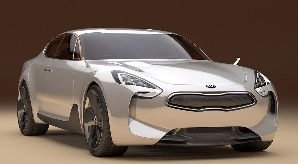 2011 Kia GT Concept Front Angle