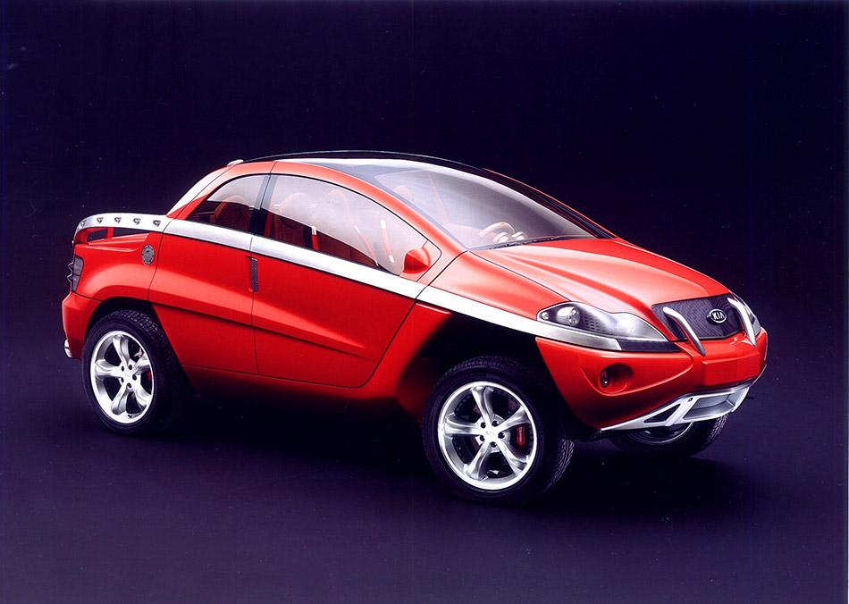 2002 Kia KCV-II Concept Front Angle