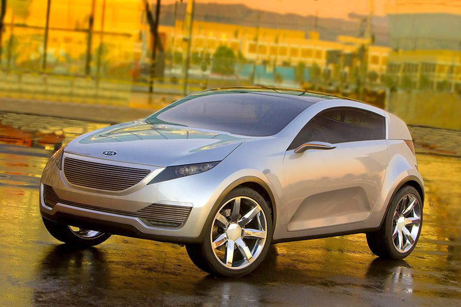 2007 Kia Kue Concept Front Angle