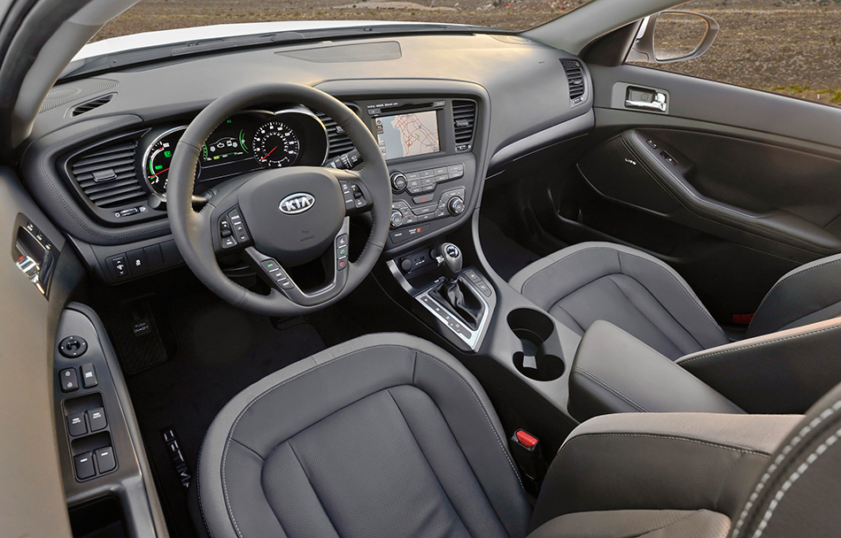 2012 Kia Optima Hybrid Interior