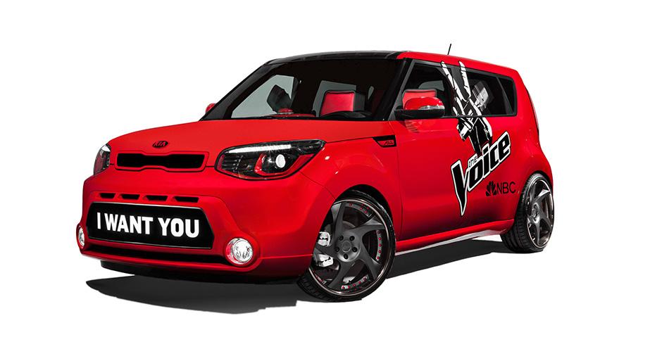 2014 Kia The Voice Soul Front Angle