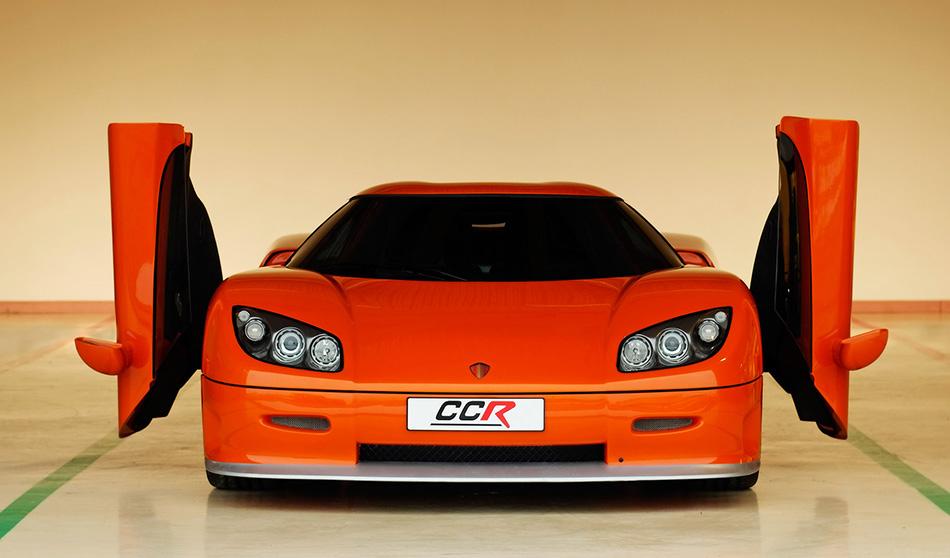 2004 Koenigsegg CCR Front Angle