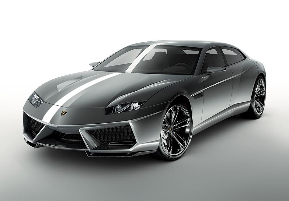 2008 Lamborghini Estoque Concept Front Angle
