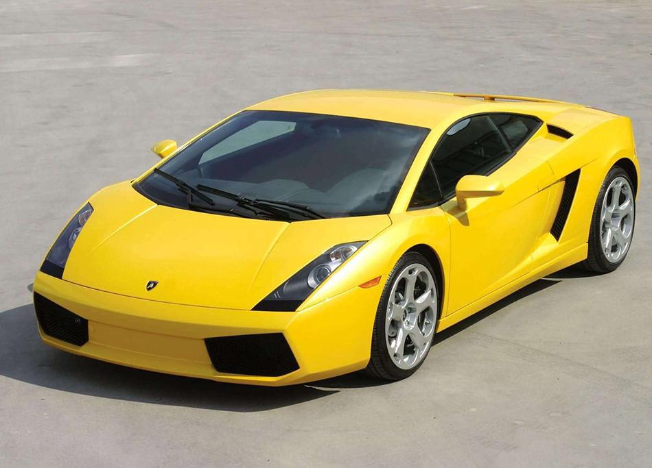 2003 Lamborghini Gallardo Front Angle