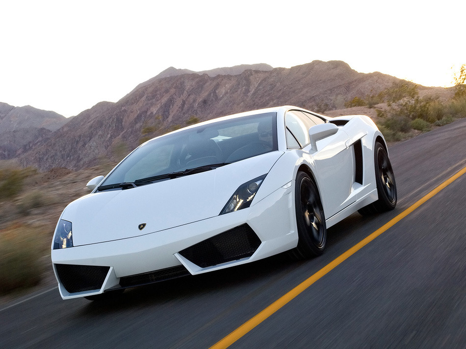 2009 Lamborghini Gallardo LP560-4 Front Angle