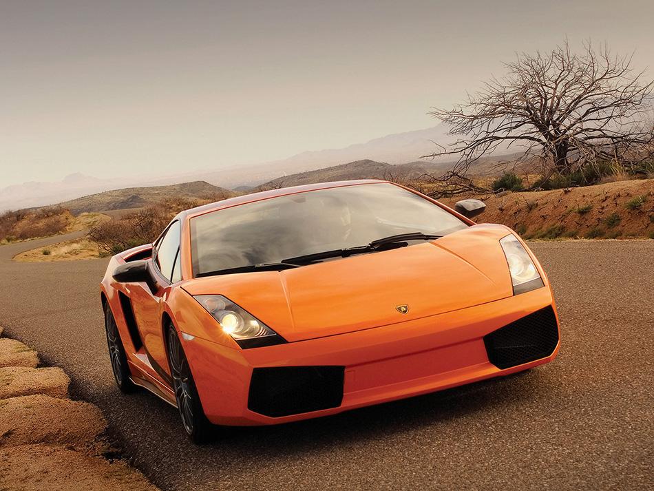 2008 Lamborghini Gallardo Superleggera Front Angle
