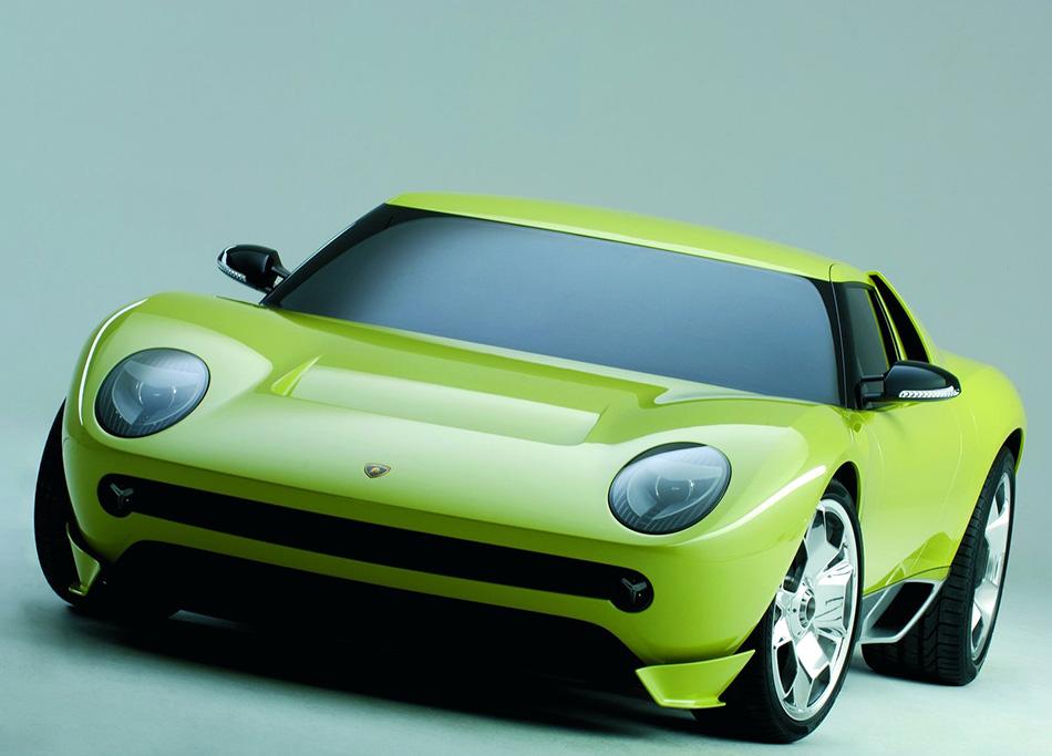 2006 Lamborghini Miura Concept Front Angle
