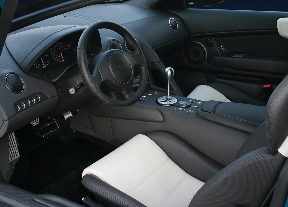 2002 Lamborghini Murcielago Interior