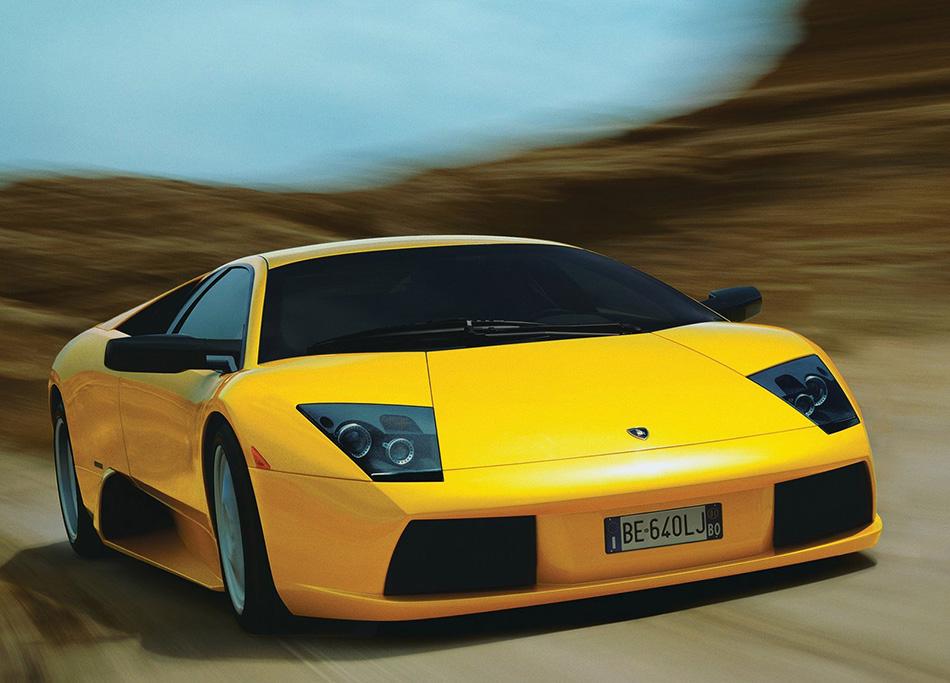 2002 Lamborghini Murcielago Front Angle