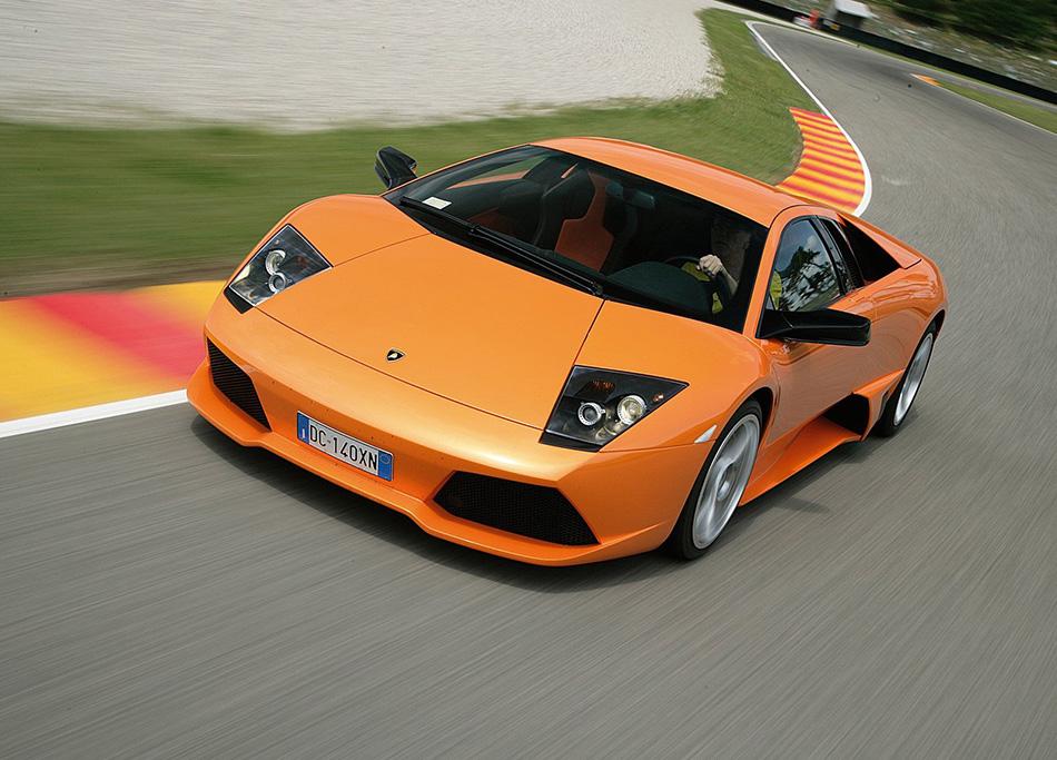 2006 Lamborghini Murcielago LP640 Front Angle