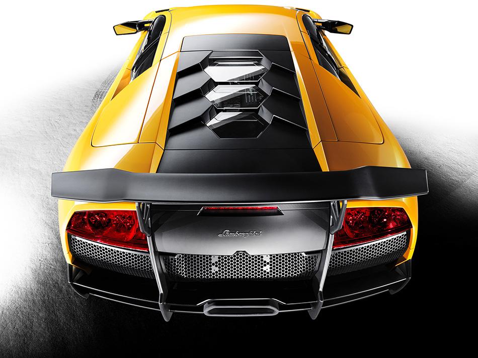 2010 Lamborghini Murcielago LP670-4 SuperVeloce Rear