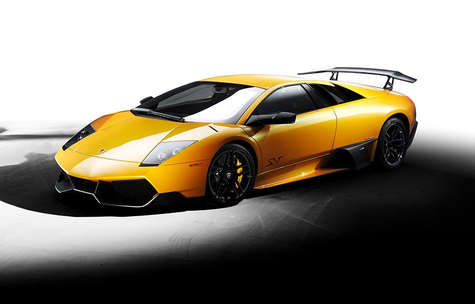 2010 Lamborghini Murcielago LP670-4 SuperVeloce Front Angle