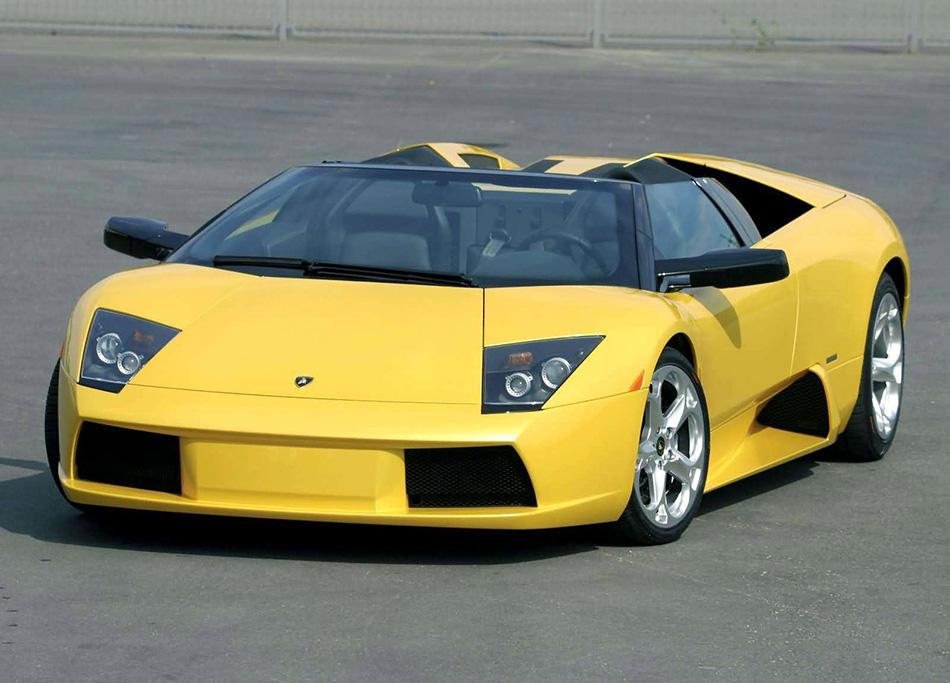 2004 Lamborghini Murcielago Roadster Front Angle