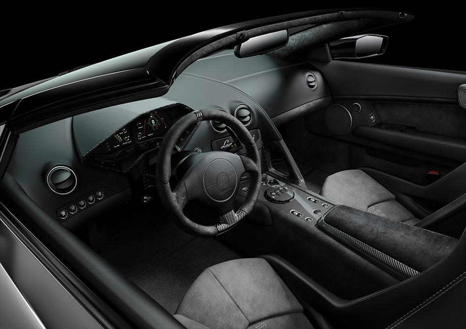 2010 Lamborghini Reventon Roadster Interior