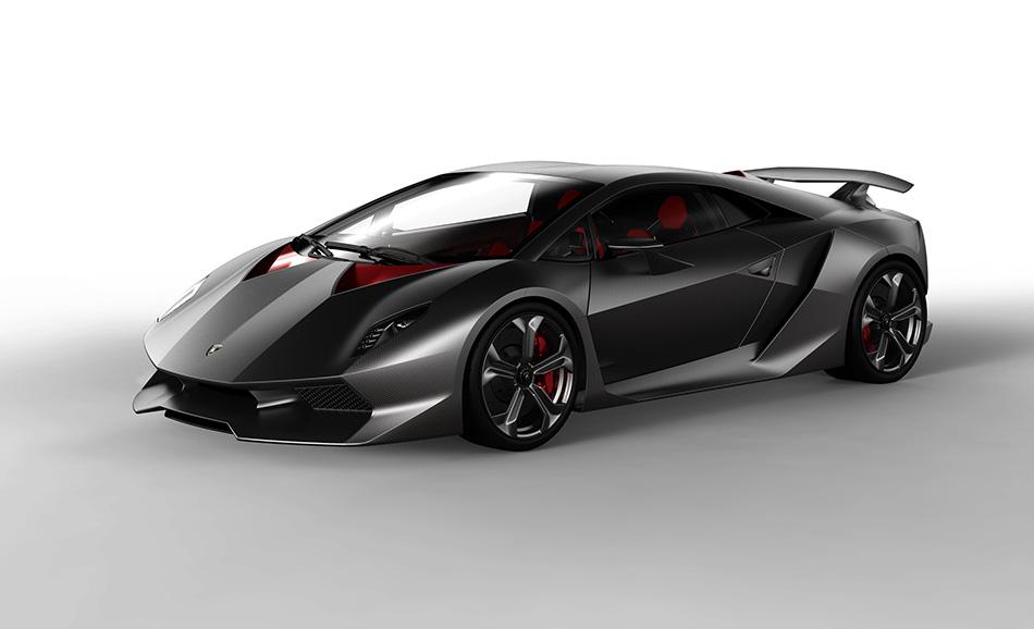 2010 Lamborghini Sesto Elemento Concept Front Angle