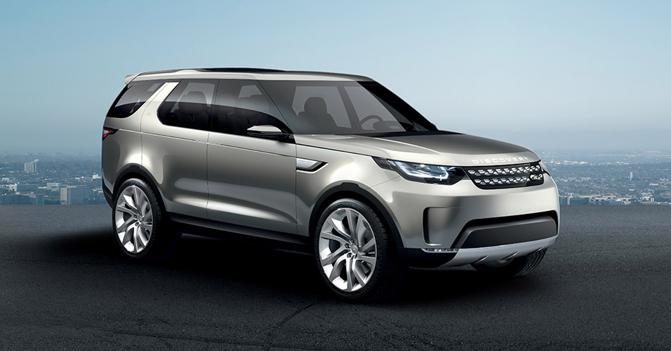 2014 Land Rover Discovery Vision Concept Front Angle