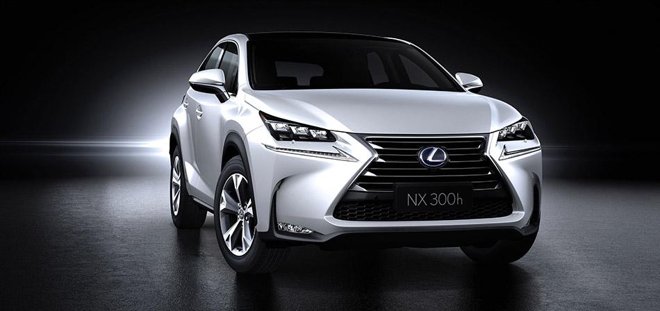 2015 Lexus NX 300h Front Angle