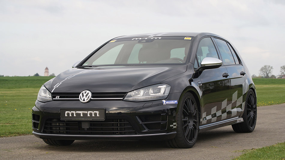 2014 MTM Volkswagen Golf 7 R 4Motion Front Angle