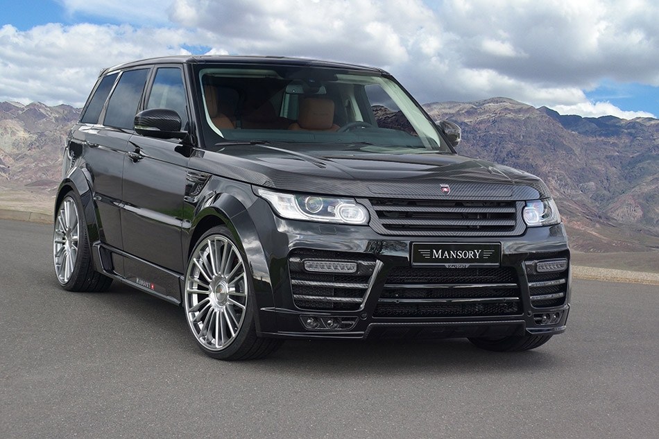 2014 Mansory Range Rover Sport Front Angle