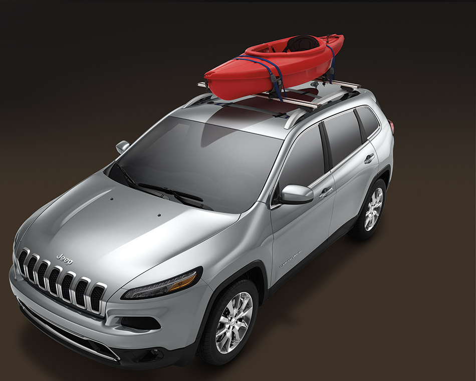 2014 Mopar Jeep Cherokee Front Angle