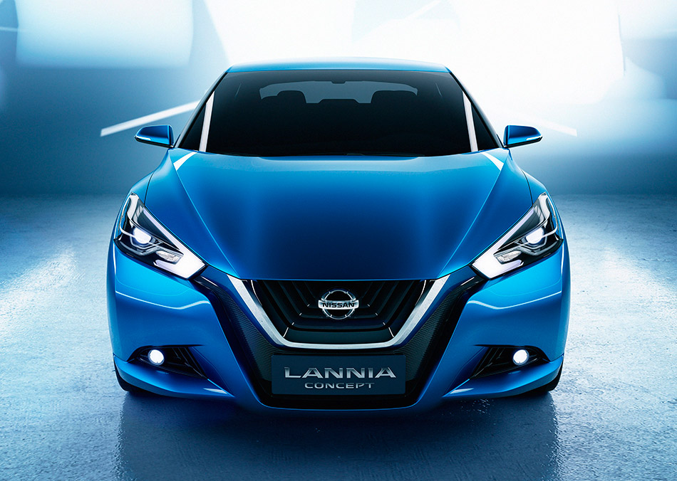 2014 Nissan Lannia Concept Front Angle