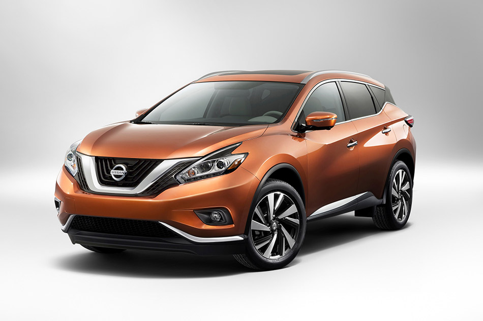 2015 Nissan Murano Front Angle