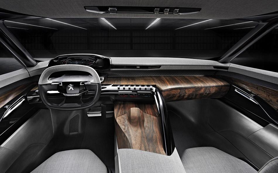 2015 Peugeot EXALT Concept Interior
