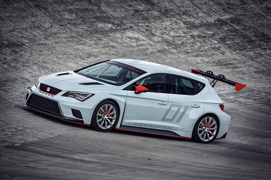 2014 SEAT Leon Cup Racer Front Angle