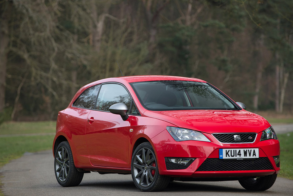 2014 Seat Ibiza FR Edition Front Angle