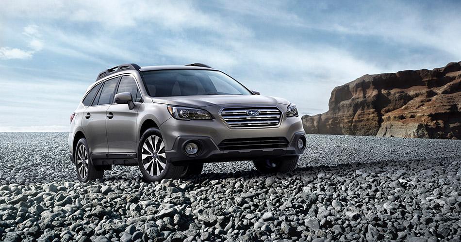 2015 Subaru Outback Front Angle