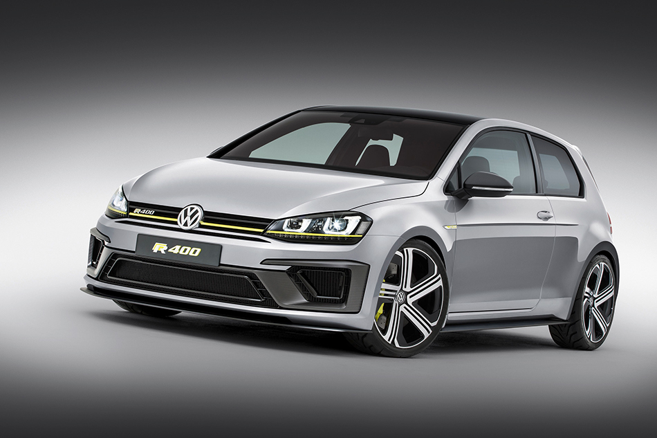 2014 Volkswagen Golf R 400 Concept Front Angle