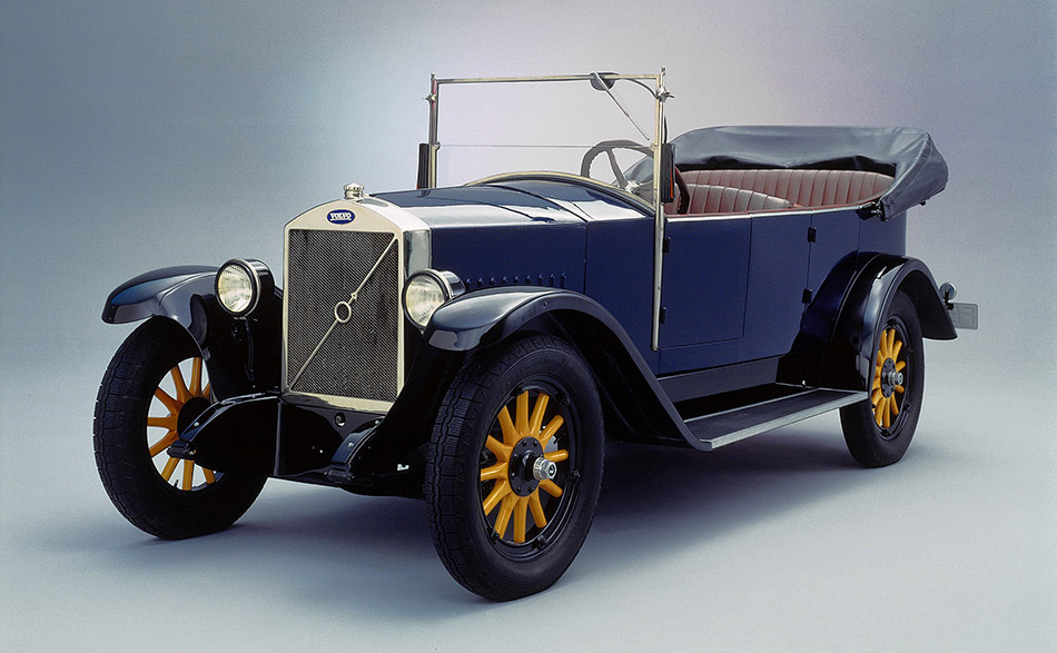 1927 Volvo OV4 Front Angle